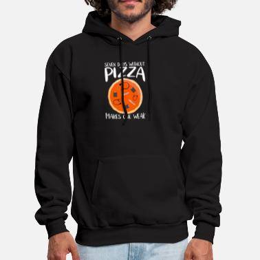 NURSE PIZZA GIFT PARAMEDIC SLOGAN STETOSCOPE - Men's Hoodie