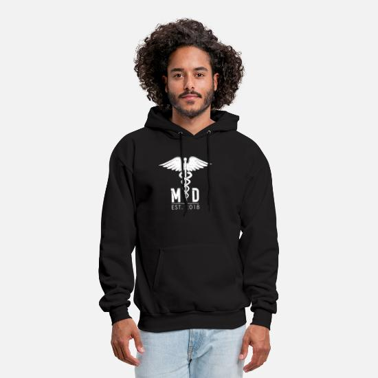 Medicine Hoodies & Sweatshirts - Doctor of Medicine - Men's Hoodie black
