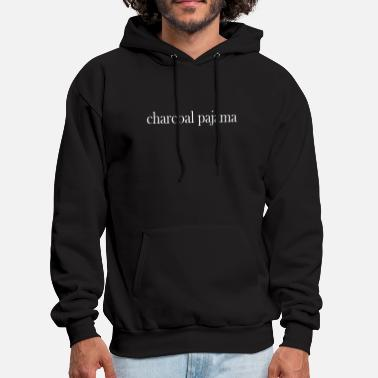 Charcoal Lighter charcoal pajama - Men's Hoodie