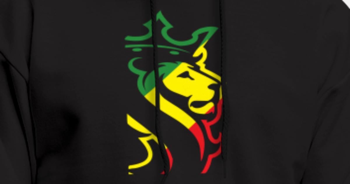 c1dce70e OGABEL OG ABEL BIG LION RASTA JAMAICAN WEED HYPE D Men's Hoodie    Spreadshirt