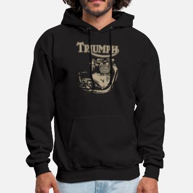New Triumph Engine Motorcycle cycling T Shirts - Men's Hoodie