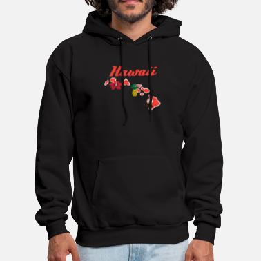 Hawaiian Fresh Hawaiian Style Tshirt Design Hawaii - Men's Hoodie