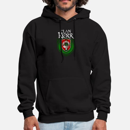 719684e6d Kerr Surname Scottish Clan Tartan Crest Badge Men's Hoodie | Spreadshirt