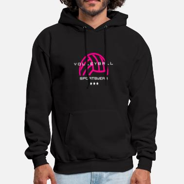 Womens Volleyball Volleyball women beach volleyball women volleyball - Men's Hoodie