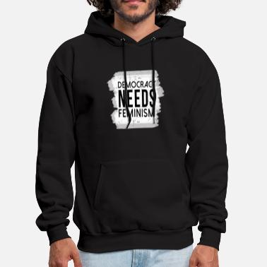 Democracy Democracy - Men's Hoodie