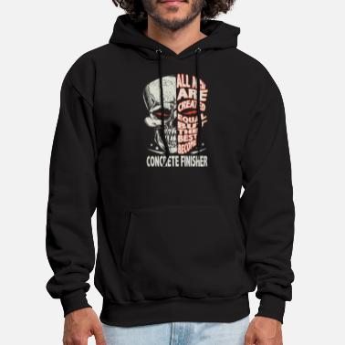 all men are created equal but the best become bike - Men's Hoodie