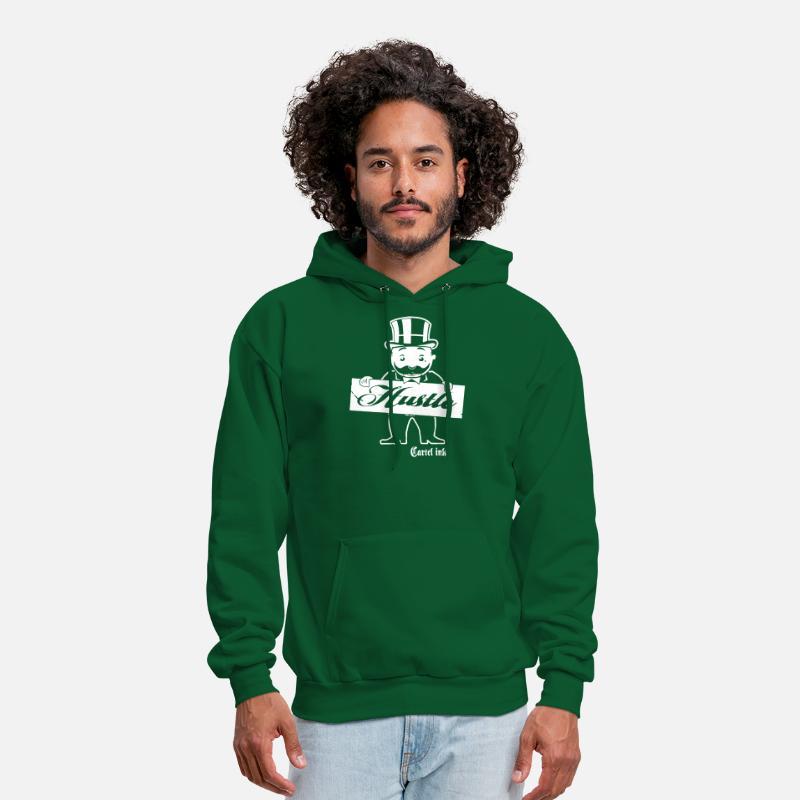 cc826838 Cartel Ink Hustle Monopoly Man Hustle T Shirts Men's Hoodie | Spreadshirt