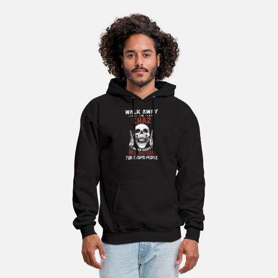 Taurus Hoodies & Sweatshirts - walk away i am chaz has anger issues and a serious - Men's Hoodie black