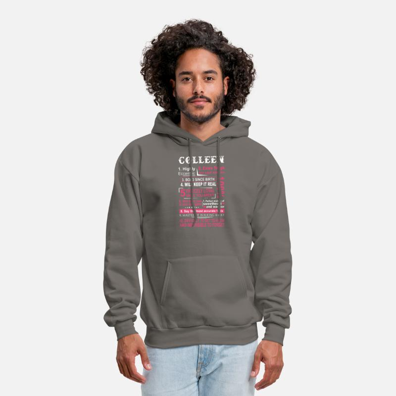 892b33596 colleen highly eccentric extra tough and super sar Men's Hoodie |  Spreadshirt