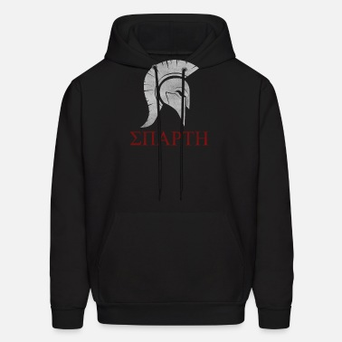 Mens The Last Warrior Spartan Sparta Helmet Hoodies Humor Sweatshirt Pure Cotton Gift Pullover Male Men's Clothing