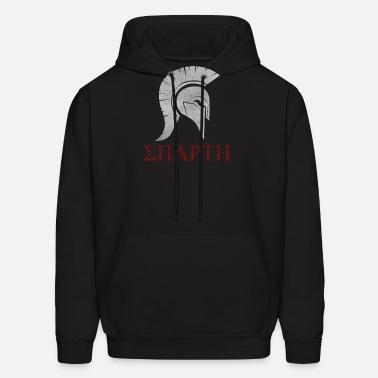 Men's Clothing Mens The Last Warrior Spartan Sparta Helmet Hoodies Humor Sweatshirt Pure Cotton Gift Pullover Male
