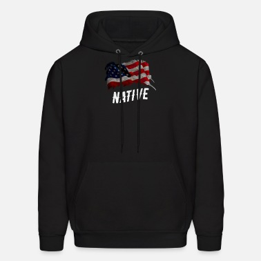 ff0bb68149f5 Native American Flag Shirt Cheroke Indian Gift Men s Premium Tank ...