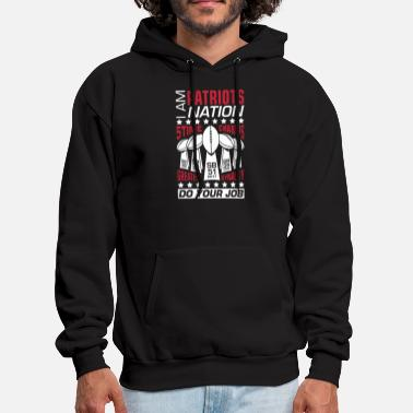 I Am Pats Nation Unisex Ladies Sports New England - Men's Hoodie