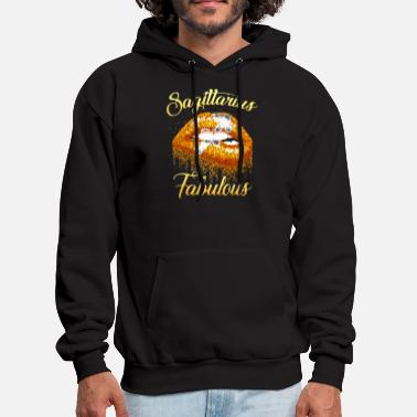 Sagittarius Fabulous lip sexy beautiful power girl - Men's Hoodie