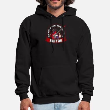 Without &amp It's Not A Real Song Without Guitar Songwriter - Men's Hoodie