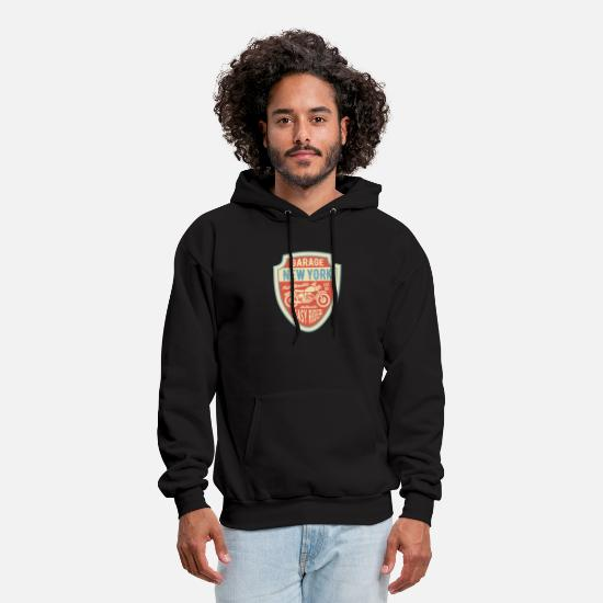 Hard Rock Hoodies & Sweatshirts - GARAGE 1 - Men's Hoodie black