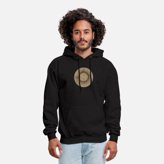 Harmony Hoodies & Sweatshirts - crystal earth sphere - Men's Hoodie black