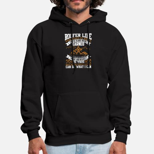 46da46d9 ROOFERS LIKE IT ON TOP BIRTHDAY XMAS GIFT HOOD ROOFING FUNNY HOODIE