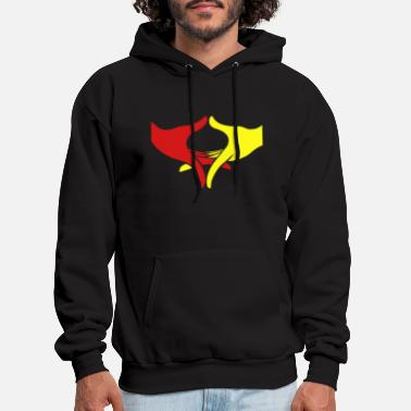 Wisdom Freedom and Peace Hands - Men's Hoodie
