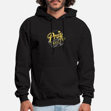 PRAY FOR THE WORLD 1 - Men's Hoodie
