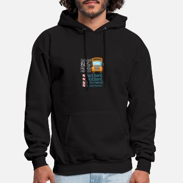 Violation School Bus Driver Pre Trip Checklist Not Bent Not - Men's Hoodie