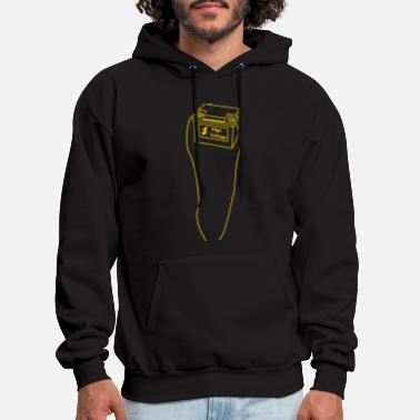 Under &amp battery, high voltage, low current, high voltage, power, electricity, penis, cock, Member - Men's Hoodie