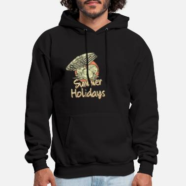 Palm Trees Beach Vacation Gift - Men's Hoodie