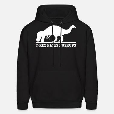 704c9d9ac T-Rex Hates Pushups Men's Premium T-Shirt   Spreadshirt