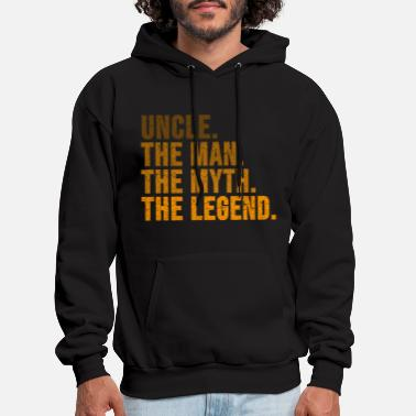 Legend Uncle funny quote - Men's Hoodie