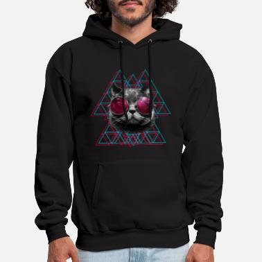 Cool Forest Lanscape in a Round Symbol Mens Womens Unisex Sweatshirt