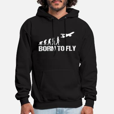Funny airlines pilot gift - Men's Hoodie