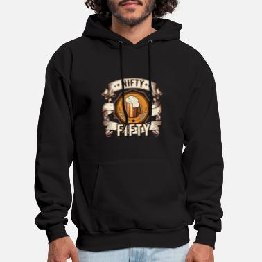 Fifties Nifty fifty - 50th - Men's Hoodie