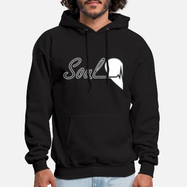 Soulmate Soulmate Left Couple - Men's Hoodie
