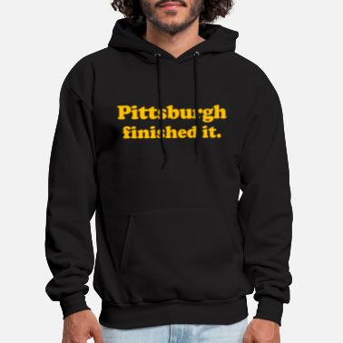 Finished Pittsburgh Finished It - Men's Hoodie