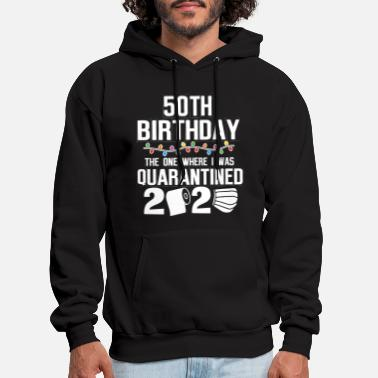 50th Birthday The One Where - Men's Hoodie