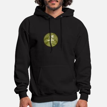 Peg Parrot on peg - Men's Hoodie