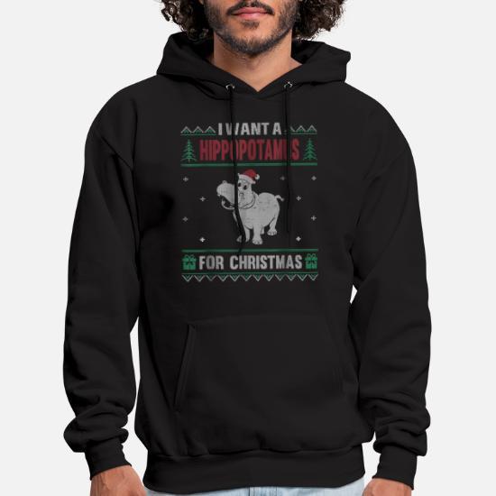 Men/'s North Swole Santa Black Sleeveless Vest Hoodie Ugly Sweater Christmas Deer