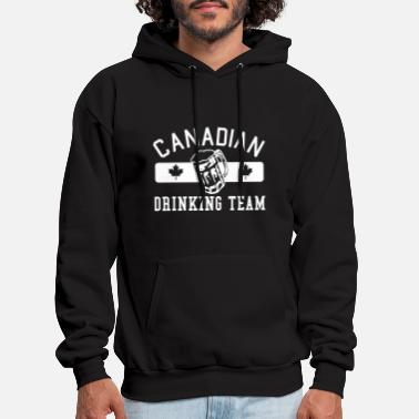 Swill Canadian Drinking Team  - Men's Hoodie