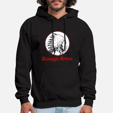 Firearms New Savage Arms Firearms police T Shirts - Men's Hoodie
