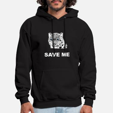 Animal Welfare Animal Welfare Snow Leopard - Men's Hoodie
