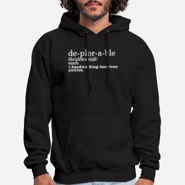 Men/'s Buff Trump Black Hoodie American President USA Muscle Flex Champ Sweater