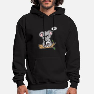 Kola Animal Love No! Koala Cute Gift Idea - Men's Hoodie