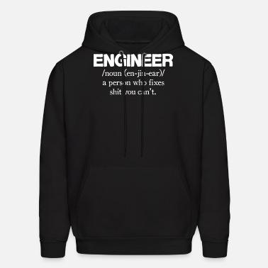 Engineer En Jin Ear Mens Funny T Shirt Hoodie Gift for Dad Printed Hoody Top Tee
