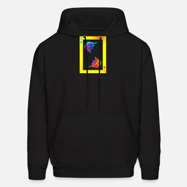 Unicorns Farting Mens Casual Hoodie Fashoion Long Sleeve Warm Pullover Hooded Print Sport Sweatshirt with Pocket