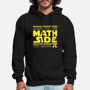 Maths come to the math size we have pi math - Men's Hoodie