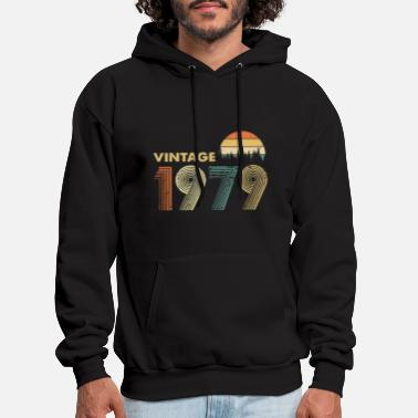 Warm vintage 1979 warm tree colors pictures hipster - Men's Hoodie