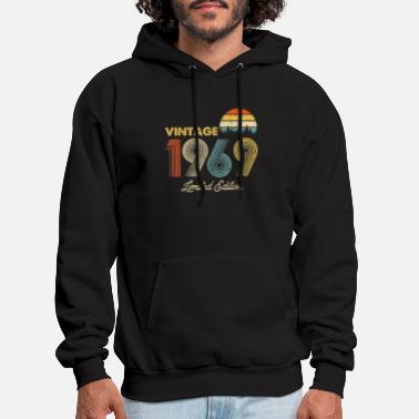 Vintage Vintage 1969 Shirt 50th Birthday Gift Classic - Men's Hoodie