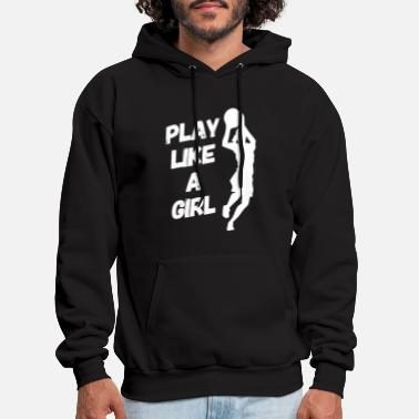 Basketball Player Sport Basket Training Basket - Men's Hoodie
