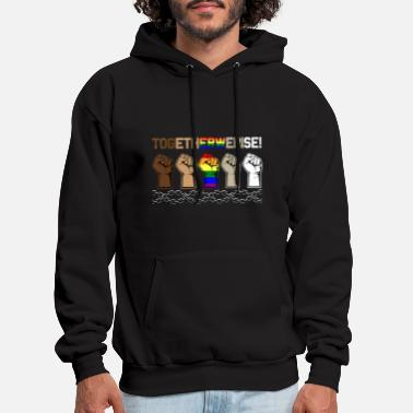 Egypt Together We Rise Women Men - Men's Hoodie
