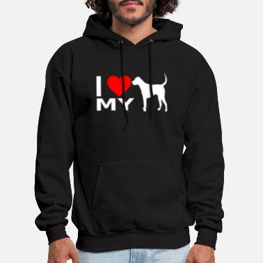 My I love my Dogs - Men's Hoodie